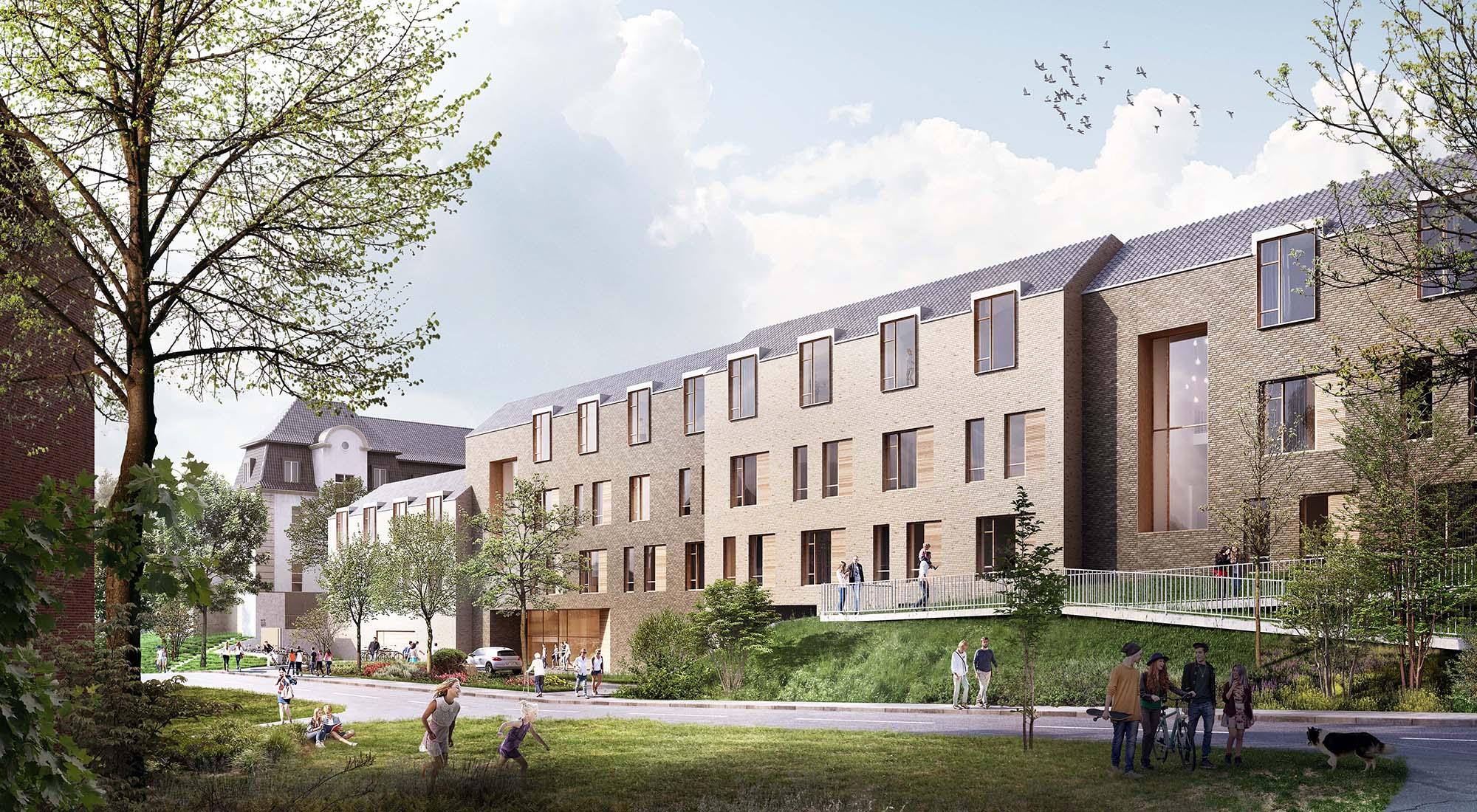 HENT bygger Dronning Ingrids Hage i Oslo