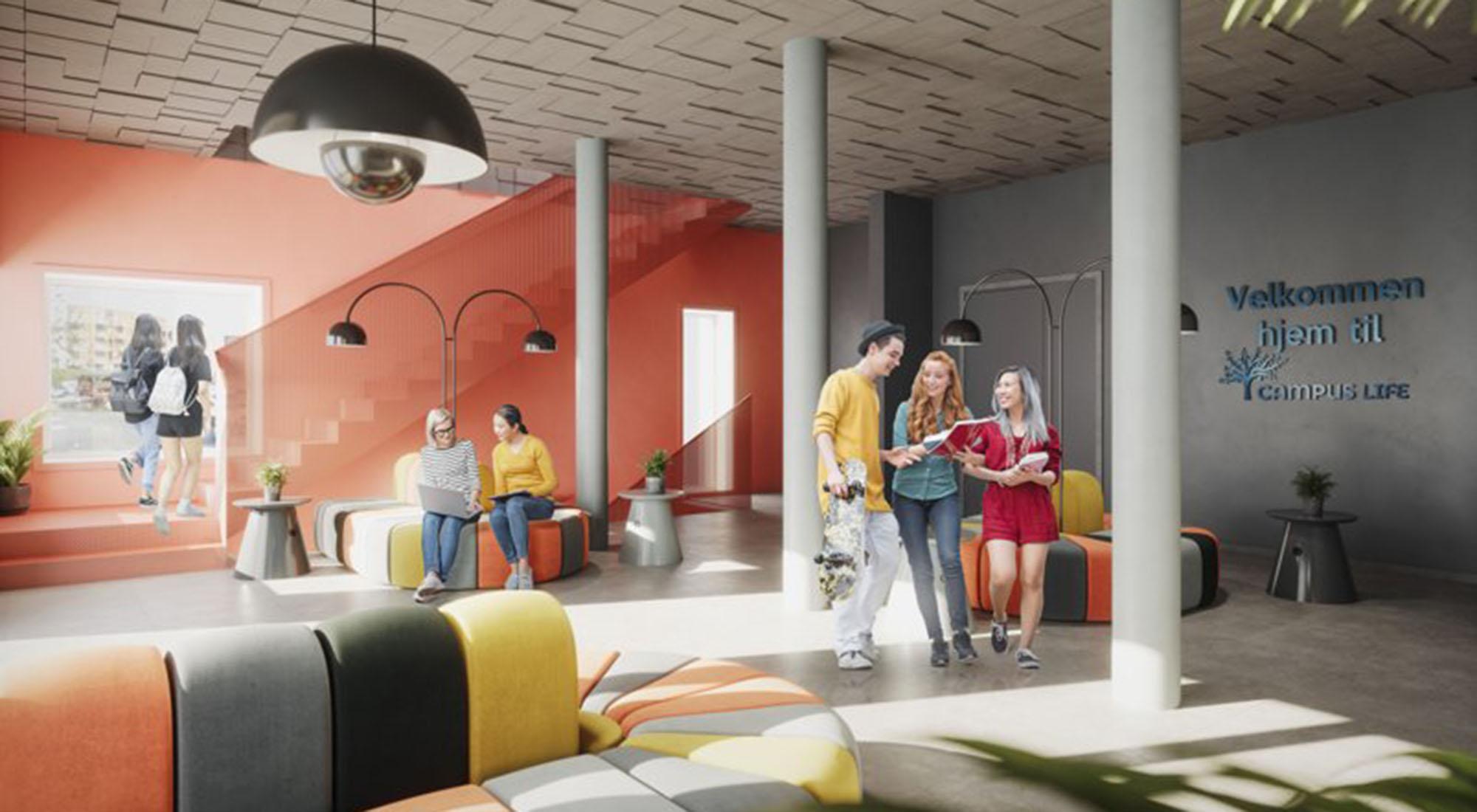 HENT skal bygge 253 nye studentboliger på Nardo i Trondheim