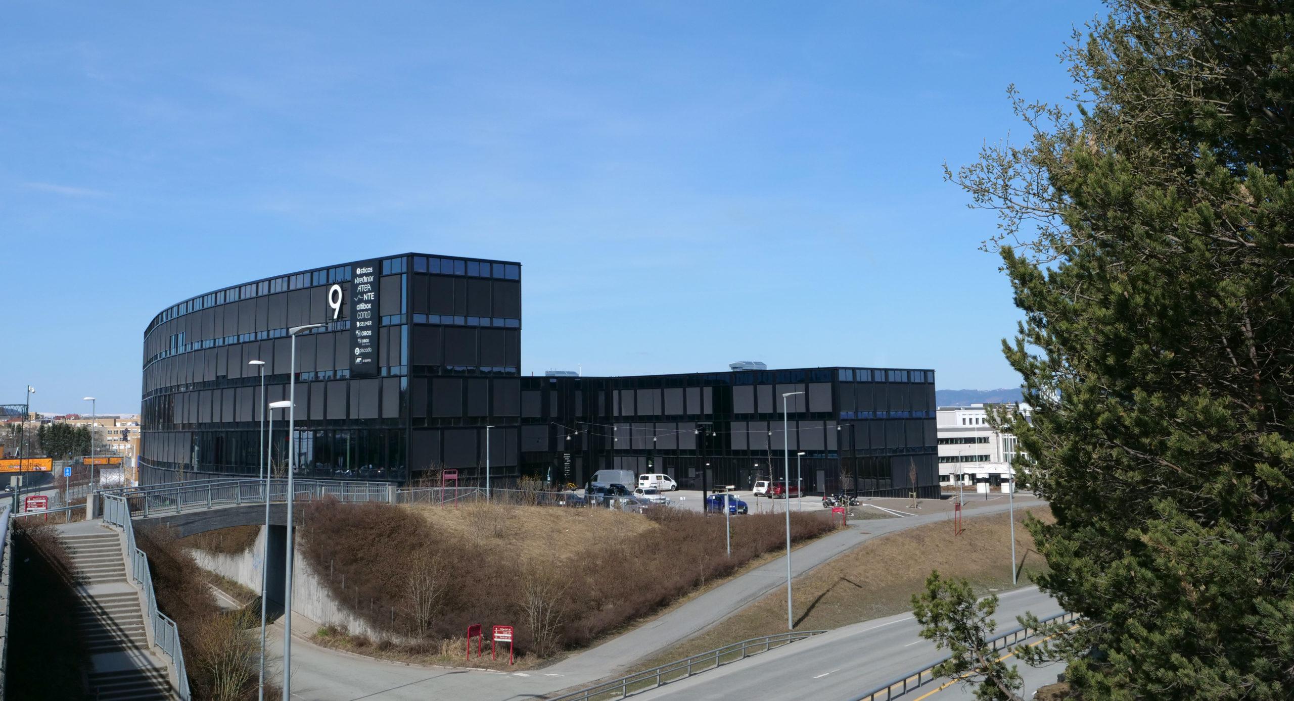 Ny bærekraftssertifisering til kontorbygg i Trondheim