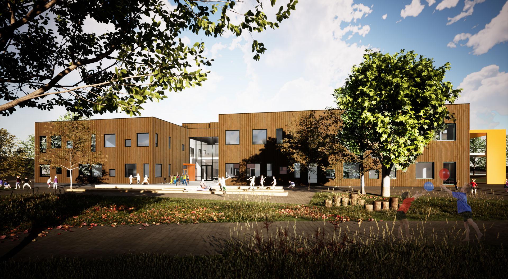 HENT og Sel kommune går fra vellykket samspill til gjennomføringsavtale på Otta skole og flerbrukshall